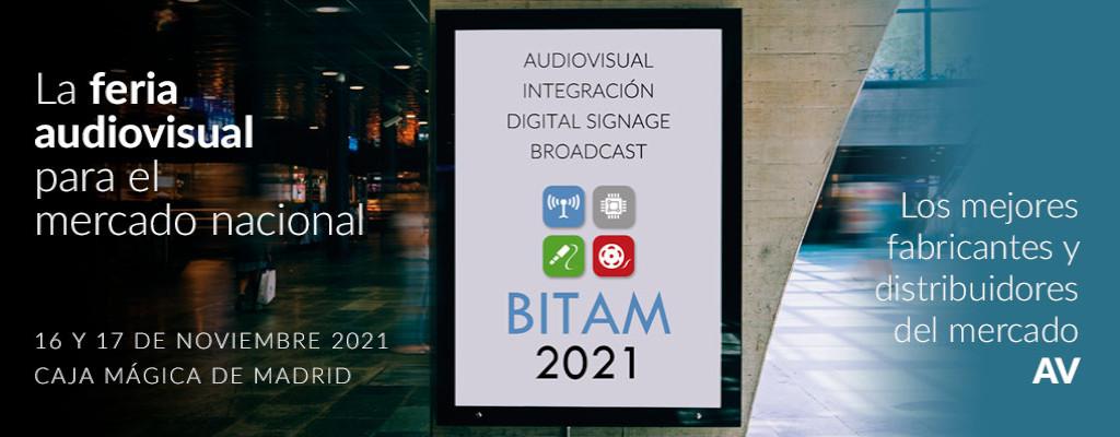 BITAM Show 2021 & sonidoeiluminacion.com
